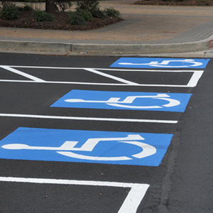 Parking-Lot-Striping-Lot Marking-Handicap